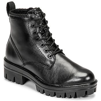 Skor Dam Boots Tamaris HOULI Svart