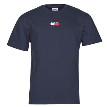 textil Herr T-shirts Tommy Jeans TJM TOMMY BADGE TEE Marin