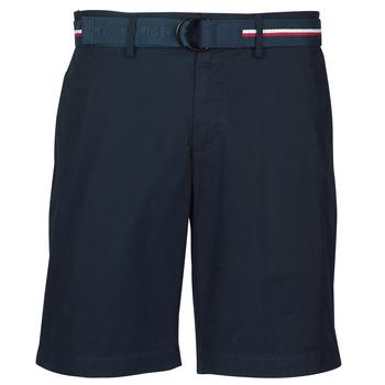textil Herr Shorts / Bermudas Tommy Hilfiger BROOKLYN LIGHT TWILL Marin