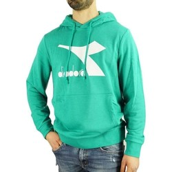 textil Herr Sweatshirts Diadora Big Logo Grön