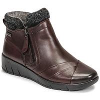Skor Dam Boots Jana GHERRA Bordeaux