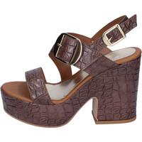 Skor Dam Sandaler Sara Collection BJ924 Brun