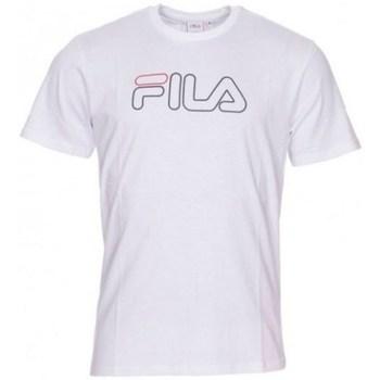 textil Herr T-shirts Fila Paul Tee M Vit