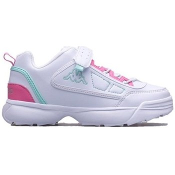 Skor Barn Sneakers Kappa Rave MF K Vit, Rosa