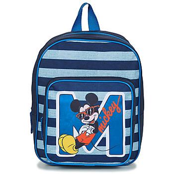 Väskor Pojkar Ryggsäckar Disney SAC A DOS MICKEY 31 CM Marin