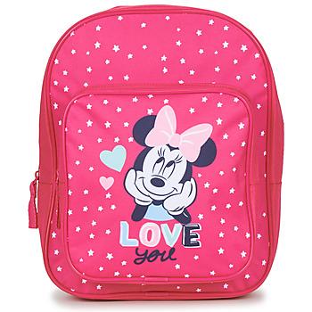 Väskor Flickor Ryggsäckar Disney SAC A DOS MINNIE 23 CM Rosa