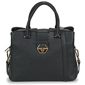 Väskor Dam Handväskor med kort rem LANCASTER DELPHINO Svart