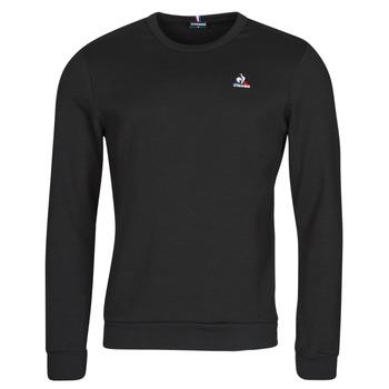 textil Herr Sweatshirts Le Coq Sportif ESS CREW SWEAT N 3 M Svart