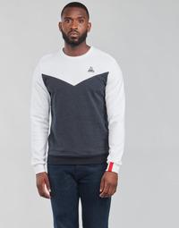 textil Herr Sweatshirts Le Coq Sportif SAISON 1 CREW SWEAT N 1 Marin / Vit