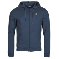 textil Herr Sweatjackets Le Coq Sportif ESS FZ HOODY N 3 M Marin