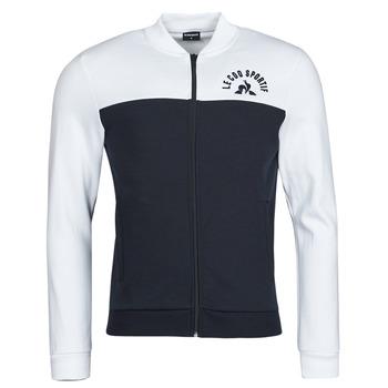 textil Herr Sweatjackets Le Coq Sportif SAISON 2 FZ SWEAT N 1 Marin / Vit