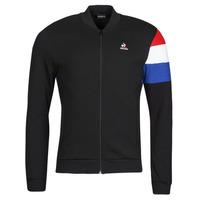 textil Herr Sweatjackets Le Coq Sportif TRI FZ SWEAT N 1 M Svart