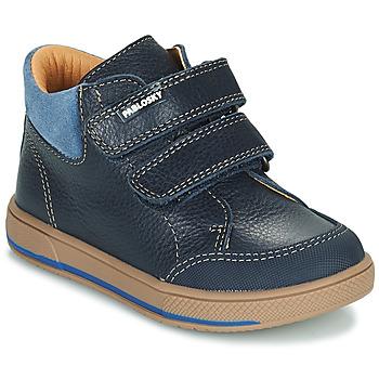 Skor Pojkar Boots Pablosky 503723 Blå