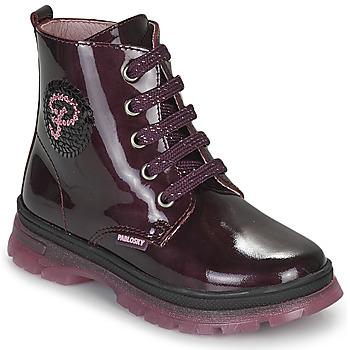 Skor Flickor Boots Pablosky 404099 Bordeaux