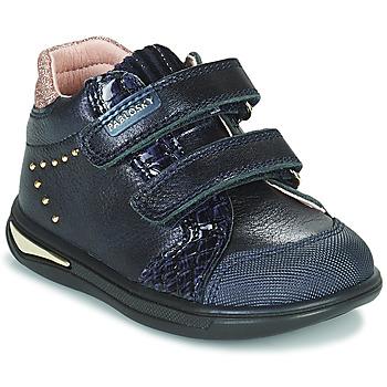 Skor Flickor Höga sneakers Pablosky 6122 Marin