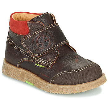 Skor Pojkar Boots Pablosky 502593 Brun