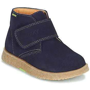 Skor Pojkar Boots Pablosky 502228 Marin