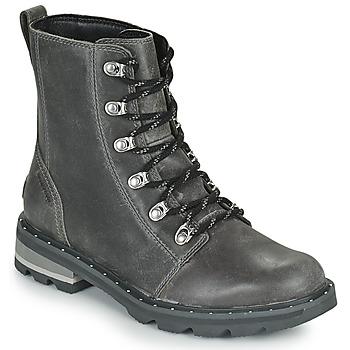 Skor Dam Boots Sorel LENNOX LACE Grå