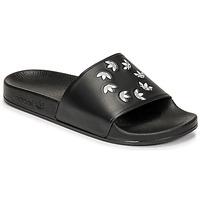 Skor Flipflops adidas Originals ADILETTE Svart