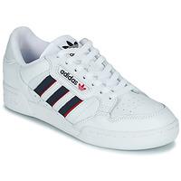 Skor Sneakers adidas Originals CONTINENTAL 80 STRI Vit / Blå / Röd