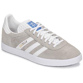 Skor Sneakers adidas Originals GAZELLE Grå / Krämfärgad