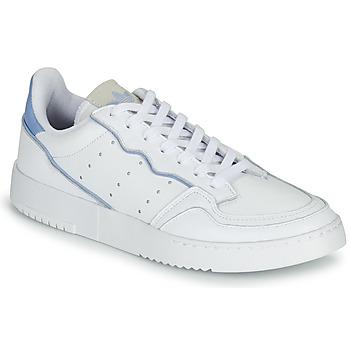 Skor Sneakers adidas Originals SUPERCOURT Vit / Blå