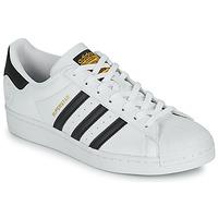 Skor Sneakers adidas Originals SUPERSTAR VEGAN Vit / Svart