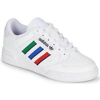 Skor Barn Sneakers adidas Originals CONTINENTAL 80 STRI J Vit / Grön / Blå