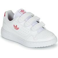Skor Flickor Sneakers adidas Originals NY 90  CF C Vit / Rosa
