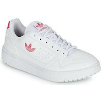 Skor Flickor Sneakers adidas Originals NY 90 J Vit / Rosa