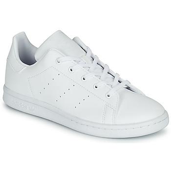 Skor Barn Sneakers adidas Originals STAN SMITH C Vit