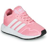 Skor Flickor Sneakers adidas Originals SWIFT RUN X C Rosa