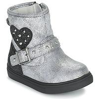 Skor Flickor Boots Primigi BABY LUX Silver