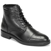 Skor Herr Boots Selected BROGUE Svart