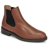 Skor Herr Boots Selected CHELSEA Cognac