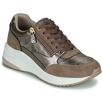 Skor Dam Sneakers Xti 43124 Brun / Brons