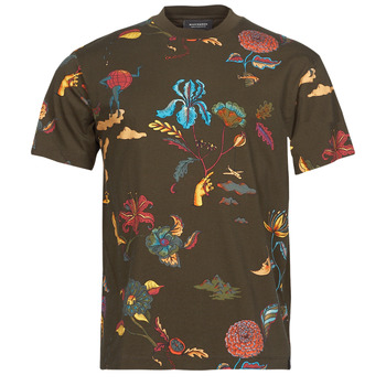 textil Herr T-shirts Scotch & Soda PRINTED RELAXED FIT Brun