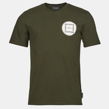 textil Herr T-shirts Scotch & Soda GRAPHIC LOGO T-SHIRT Kaki
