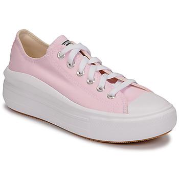 Skor Dam Sneakers Converse CHUCK TAYLOR ALL STAR MOVE SEASONAL COLOR OX Rosa