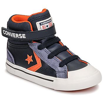 Skor Barn Höga sneakers Converse PRO BLAZE STRAP LEATHER TWIST HI Blå