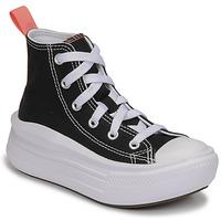 Skor Flickor Höga sneakers Converse CHUCK TAYLOR ALL STAR MOVE CANVAS HI Svart / Rosa