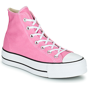 Skor Dam Höga sneakers Converse CHUCK TAYLOR ALL STAR LIFT SEASONAL COLOR HI Rosa