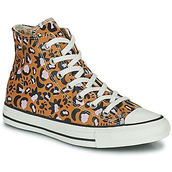Skor Dam Höga sneakers Converse CHUCK TAYLOR ALL STAR MYSTIC WORLD HI Senapsgul / Rosa