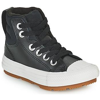 Skor Barn Höga sneakers Converse CHUCK TAYLOR ALL STAR BERKSHIRE BOOT SEASONAL LEATHER HI Svart