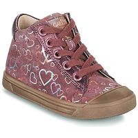 Skor Flickor Höga sneakers Acebo's 5533EL-GRANADA Rosa