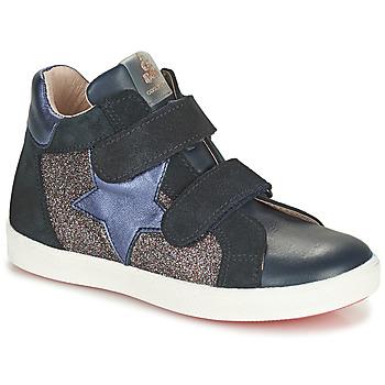 Skor Flickor Höga sneakers Acebo's 5541SX-MARINO Marin