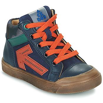 Skor Pojkar Höga sneakers Acebo's 5567-MARINO-J Marin