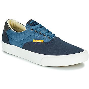 Skor Pojkar Sneakers Jack & Jones JR MORK CANVAS BLOCK Blå