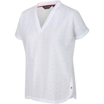 textil Dam T-shirts Regatta  Vit