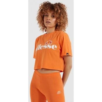textil Dam Skjortor / Blusar Ellesse CAMISETA MANGA CORTA MUJER  SGI04484 Orange